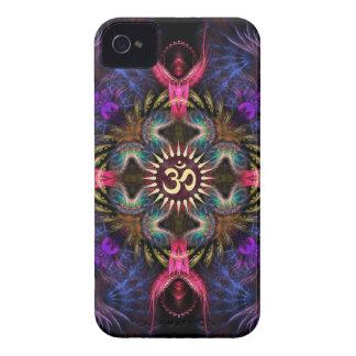 Quadra Angels Fractal Art Aum iPhone 4 Case-Mate