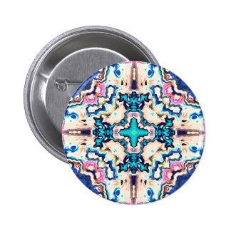 Quadrants of Color 2 Inch Round Button