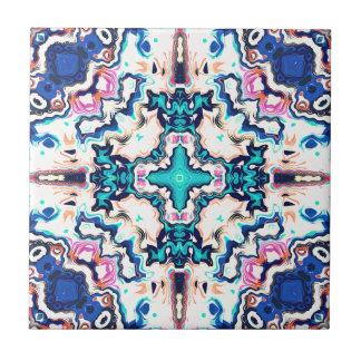 Quadrants of Color Ceramic Tiles