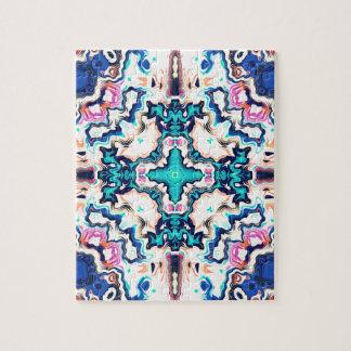 Quadrants of Color Jigsaw Puzzle