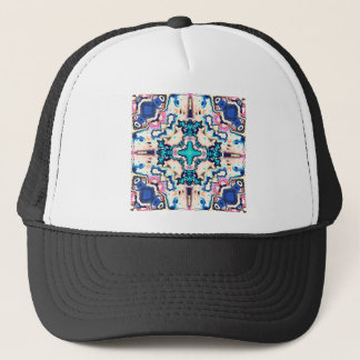 Quadrants of Color Trucker Hat