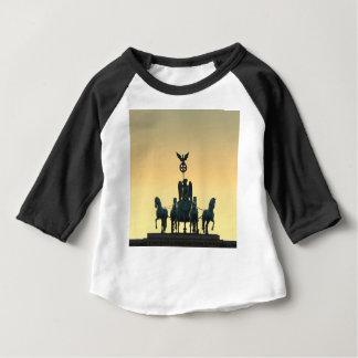 Quadriga Brandenburg Gate 001, Berlin Baby T-Shirt