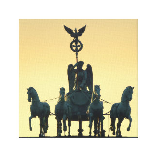 Quadriga Brandenburg Gate 001, Berlin Canvas Print