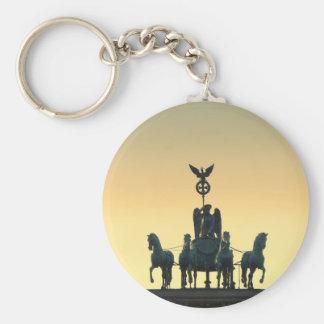 Quadriga Brandenburg Gate 001, Berlin Keychain