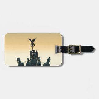 Quadriga Brandenburg Gate 001, Berlin Luggage Tag