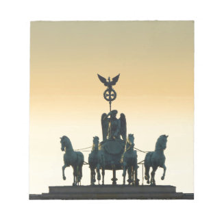 Quadriga Brandenburg Gate 001, Berlin Notepad