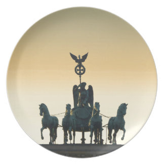 Quadriga Brandenburg Gate 001, Berlin Party Plate