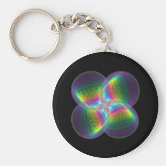 Quadroon Pinwheel  Keychain