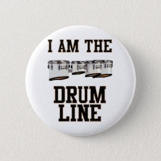 Quads: I Am The Drum Line 2 Inch Round Button