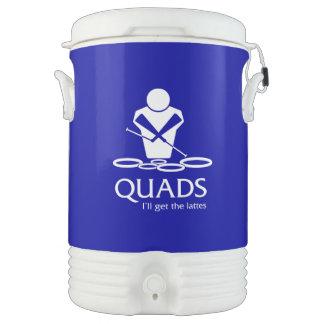 QUADS - I ll Get The Lattes Igloo Beverage Cooler