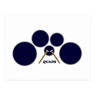 quads post cards