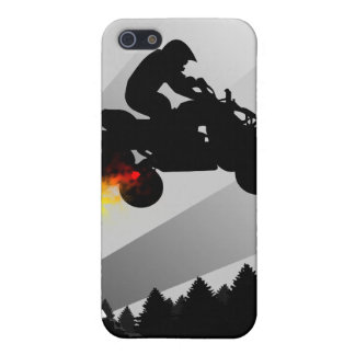 quads : rainbow trail : cover for iPhone 5/5S