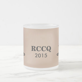 QUADS - RCC TENORS 2015 FROSTED GLASS COFFEE MUG