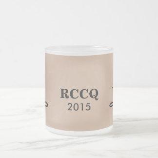 QUADS - RCC TENORS 2015 10 OZ FROSTED GLASS COFFEE MUG