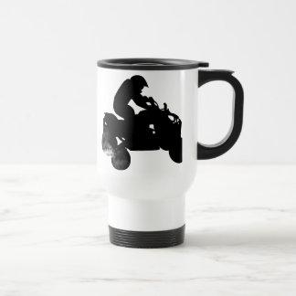 quads. stainless steel travel mug