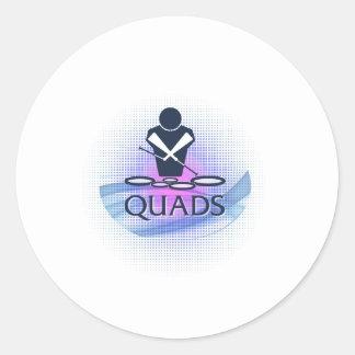 Quads Sticker