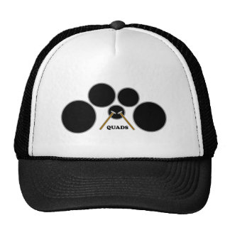 quads trucker hat