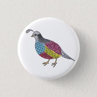 quail 1 inch round button