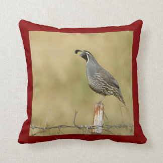 Quail American MoJo Pillows