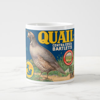 Quail Brand Contra Costa Bartletts Vintage Crate L Large Coffee Mug