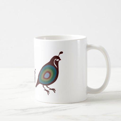 Quail Classic White Coffee Mug