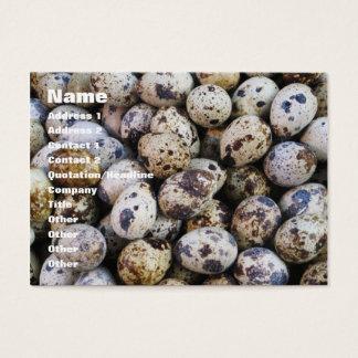 Quail Eggs Business Card