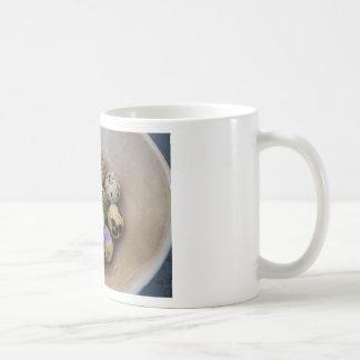 Quails eggs & flowers 7533 coffee mug
