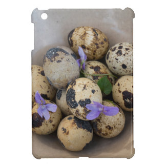 Quails eggs & flowers 7533 cover for the iPad mini