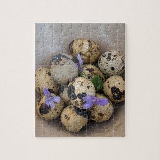 Quails eggs & flowers 7533 puzzle