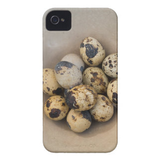 Quails eggs in a bowl iPhone 4 case
