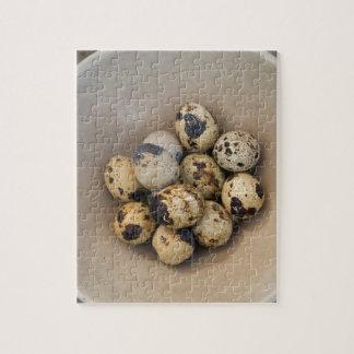 Quails eggs in a bowl puzzles
