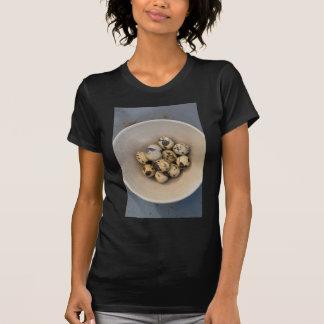 Quails eggs in a bowl T-Shirt