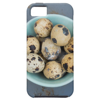 Quails eggs in a green bowl iPhone 5 cover