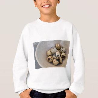 Quails eggs sweatshirt