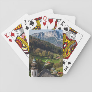Quaint bavarian village, Germany Playing Cards