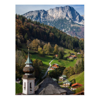 Quaint bavarian village, Germany Postcard