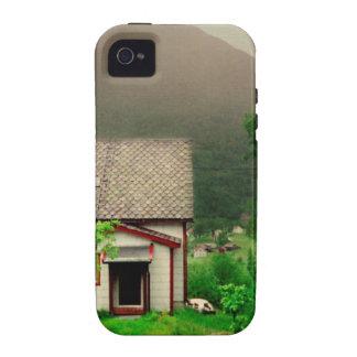 Quaint Norwegian Cottage Vibe iPhone 4 Cover