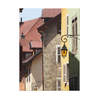 Quaint Old Buildings in Annecy, France Canvas Print