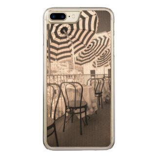 Quaint restaurant balcony, Italy Carved iPhone 8 Plus/7 Plus Case