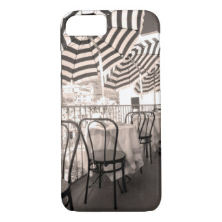 Quaint restaurant balcony, Italy iPhone 8/7 Case