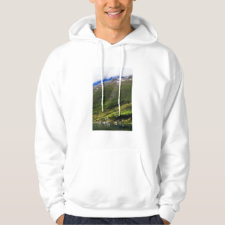 Quaint Village by the fjord, Norway Hoodie