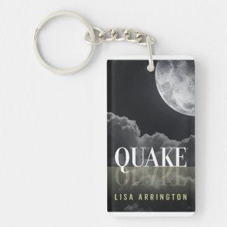 Quake Book Cover Keychain