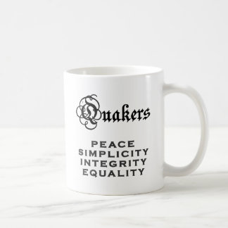 Quaker Motto Coffee Mug