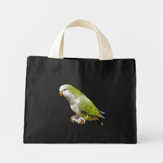 Quaker Parrot Mini Tote Bag