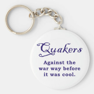 Quakers - War Keychain