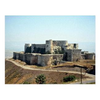 Quala'at Hosn Castle, Syria Postcard