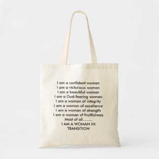Qualities of a woman tote