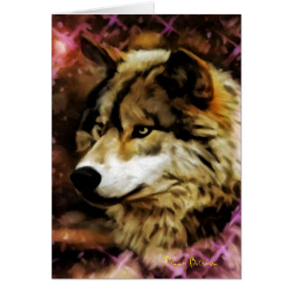 Qualities of the Wolf Greeting Card