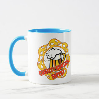 Quality Control Expert Beer T-shirts and Gifts Mug