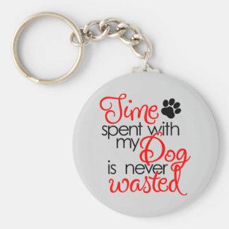 Quality Dog Time Keychain